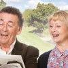 TWO STARS IN AYCKBOURN'S COMEDY