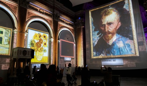 UK PREMIERE FOR VAN GOGH