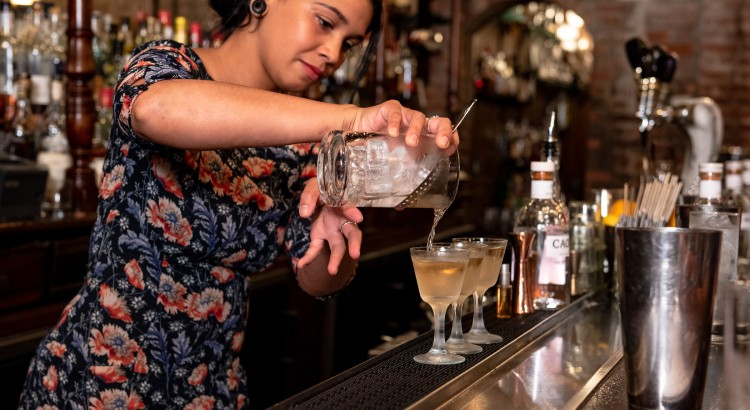 ELYSA'S COCKTAIL IS A REAL WINNER