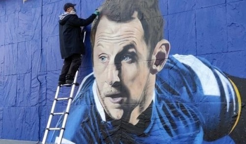 MURAL TO RUGBY LEAGUE LEGEND