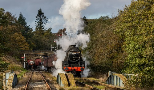 FULL STEAM AHEAD …..