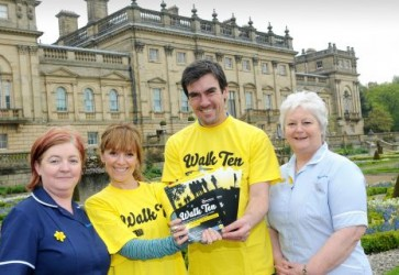 Emmerdale Stars Support Harewood House Walk for Marie Curie Nurses