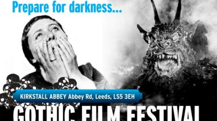 PREPARE FOR DARKNESS…CAMBRIDGE FILM TRUST AND BROADWAY NOTTINGHAM ANNOUNCE HALLOWEEN GOTHIC FILM FESTIVAL EXTRAVAGANZA AT KIRKSTALL ABBEY, LEEDS, 31st OCTOBER – 3rd NOVEMBER
