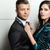 THE STARS OF STRICTLY COME DANCING PASHA & KATYA