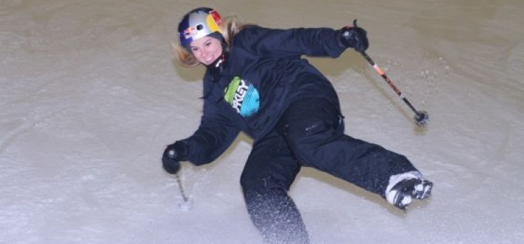 YORKSHIRE'S OLYMPIC STARS ENTICE HUNDREDS INTO THE SNOW TO SUPPORT DEAFBLIND CHARITY 'SENSE'