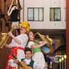 Dick Whittington is joined by Alice Fitzwarren & Sarah the Cook at City Varieties Music Hall Leeds