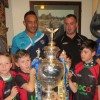 FARNLEY FALCONS ENJOY SUCCESSFUL RE-LAUNCH AT NEW PREMISES
