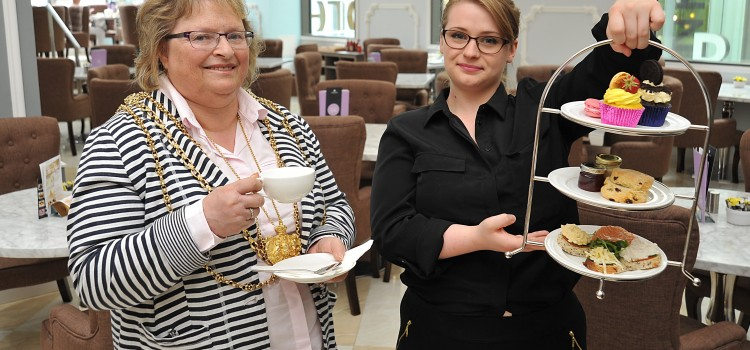 JOIN THE LORD MAYOR FOR AFTERNOON TEA