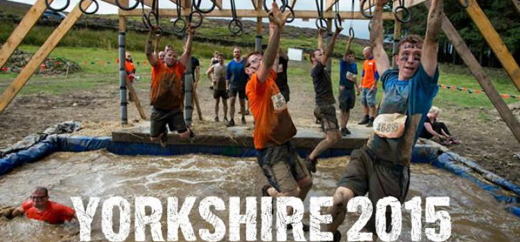 TOUGH MUDDER COMES TO YORKSHIRE 2015
