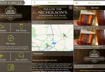 YORKSHIRE ALE TRAIL-EXPLORE LEEDS AND YORK WITH NEW NICHOLSON'S PUB APP