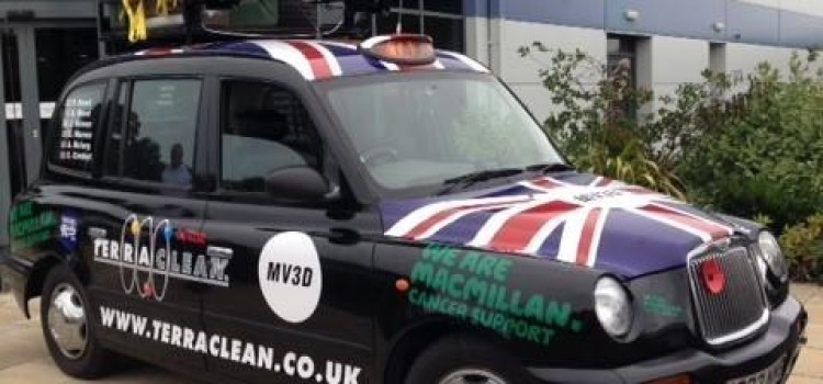 TERRACLEAN'S TAXI TO AFRICA PRE-TOUR EVENT TO RASE MONEY FOR MACMILLIAN CANCER SUPORT