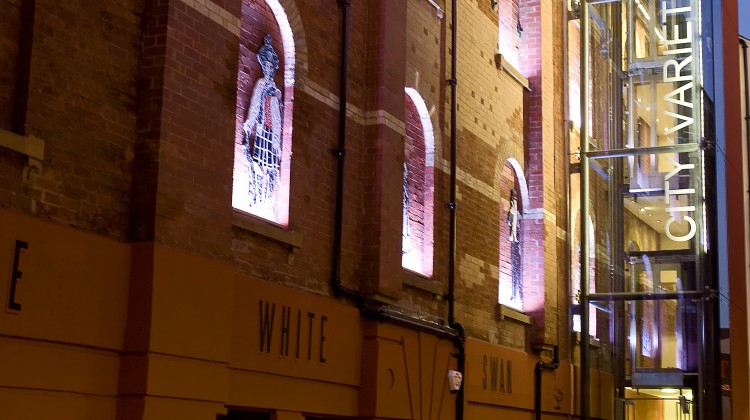 TWICE NIGHTLY AT THE CITY VARIETIES