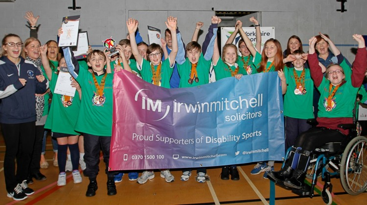 IRWIN MITCHELL SUPPORTS BRADFORD DISABILITY SPORTS EVENT