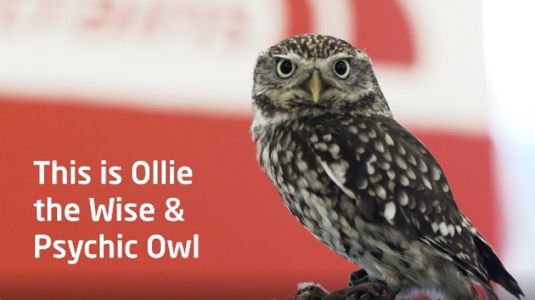 OLLIE THE OWL FLIES INTO LEEDS STATION
