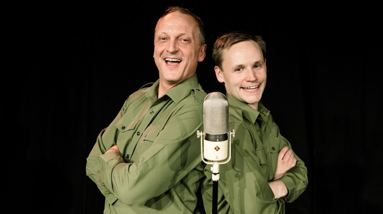 DADS ARMY MARCHES INTO TOWN