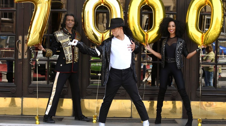 THRILLER LIVE CELEBRATES 7000 PERFORMANCES