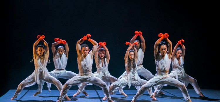 A VISUALLY COMPELLING WORK OF DANCE