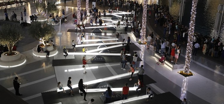 ILLUMINATED SEESAWS TO TOUR THE NORTH