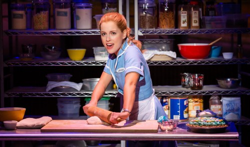 THE FIRST TOUR OF WAITRESS THE MUSICAL