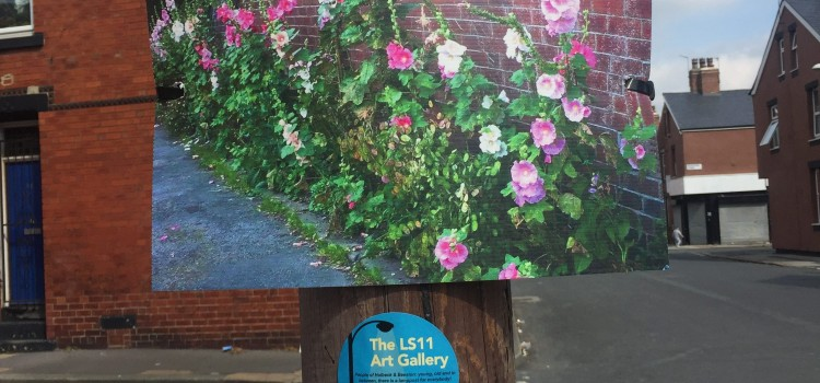 NEW ARTS GALLERY ON LAMP POSTS
