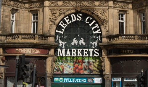 LEEDS OUTDOOR MARKET IS OPEN