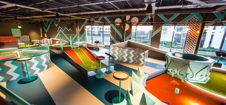 THE MINI GOLF CENTRE REOPENS ITS DOORS