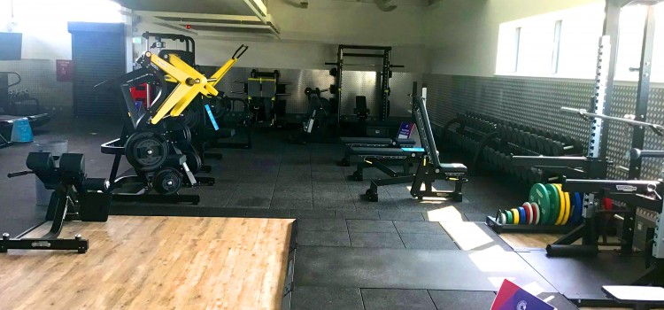 STATE-OF-THE-ART GYM NOW OPEN