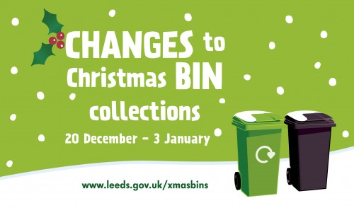 PUT RECYLING AT THE TOP OF YOUR CHRISTMAS TO DO LIST
