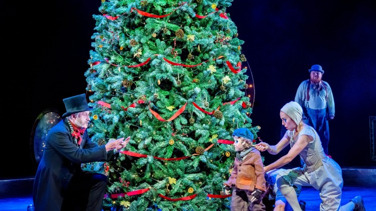 AT HOME WITH A CHRISTMAS CAROL