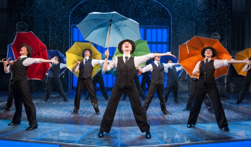 SINGIN' IN THE RAIN STOPS OFF AT BRADFORD