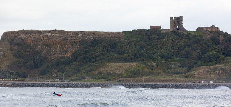 IT'S A SWELL PLACE TO SURF ON THE YORKSHIRE COAST