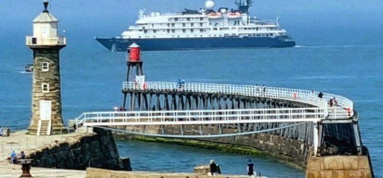 WHITBY WELCOMES FIRST THREE CRUISE SHIPS….