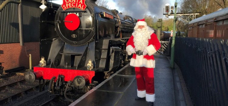 SANTA IS COMING TO…..